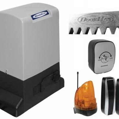 Автоматика DOORHAN SL-1300KIT комплект привода для откатных ворот массой до 1300 кг