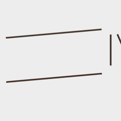 Комплект стальных профилей для ворот Revolution 4500x2200