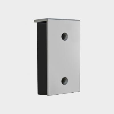 Бампер резиновый 450х250х100 со стальной рабочей накладкой 16мм