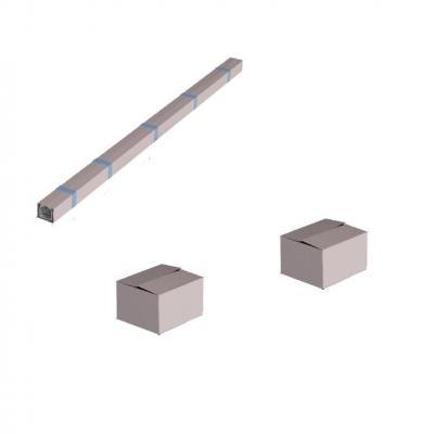 Система роликов и направляющих для балки х/к 95х88х5 L=8000мм