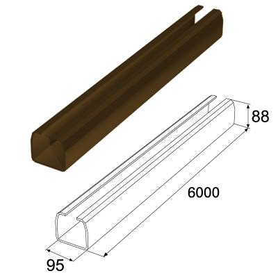 Балка прокатная 95х88 L=5995 RAL8017